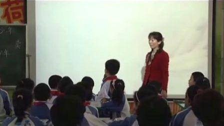 小学三年级语文卖木雕的少年教学视频人教版彭彩燕