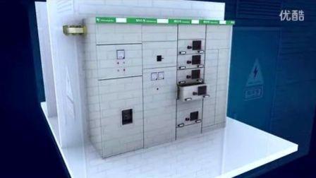 天正建筑配电一体化解决方案应用动画