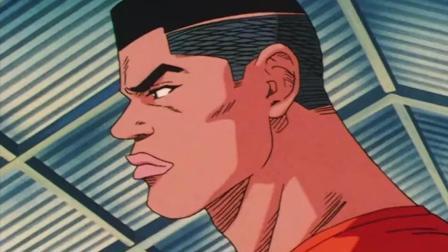 灌篮高手: 宫城良田面对对方的挑衅, 他一眼找出了老大