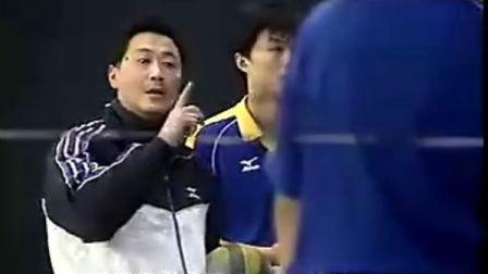 排球教学视频34 快球掩护进攻、专位防守、立体进攻