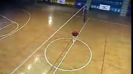 排球教学视频29 二传训练、位置差