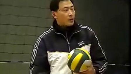 排球教学视频31 平拉开扣球、二传、战术介绍