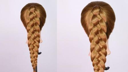 【摸摸头编发】一学就会的马尾五股辫