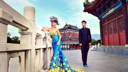 CC学员婚纱照:品尚化妆摄影美甲美容纹绣专业职业艺术培训学校