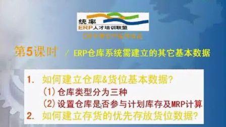 统率ERP视频教程 ERP 仓库管理24课时_05 erp系统 案例演示