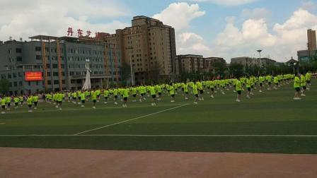 运动会大型团体操 跳绳表演