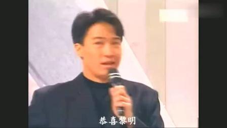 一首将黎明推上顶峰的歌曲 只有他可以将颁奖典礼变成个人演唱会