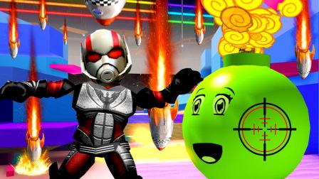 小熙吊德斯 爆笑兄妹玩游戏 第一季 炸弹生存模拟器 几十种完全不同的炸弹在旁边同时爆炸