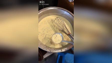 甜筒就是这么来的, 脆皮手工制作#美食##冰淇淋#