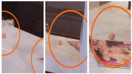 《泡沫之夏》穿帮镜头: 安卉妮家里有颗淘气抢镜的荔枝
