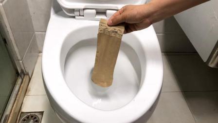 旧丝袜别扔了, 放马桶里, 3个月不清洁不脏不臭, 家家户户都在用
