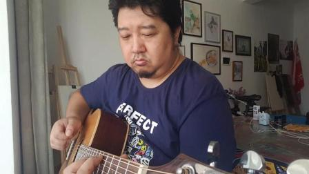 LEGPAP莱柏AHDC121单板民谣吉他音色视听-邯郸福嘉琴行吉他社录制