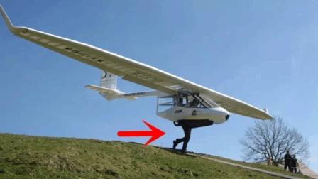 老外造的这个飞机, 蹬腿就能飞, 时速108公里/小时!