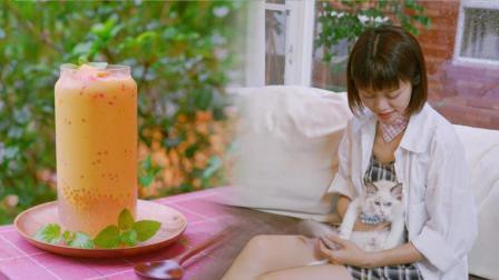 清凉夏日, 唯有一杯充满仙气的杨枝甘露才能让你满血复活
