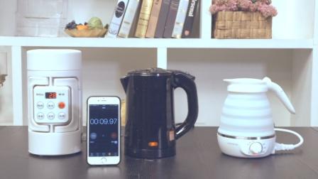 三款网红便携水壶哪个更好用?
