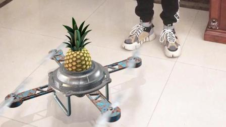 小伙自制飞行器, 水果发电!