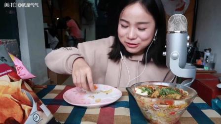 (2)吃播 抹茶毛巾卷/草莓薯片/