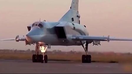 俄罗斯图-160超音速战略轰炸机的完美飞行!