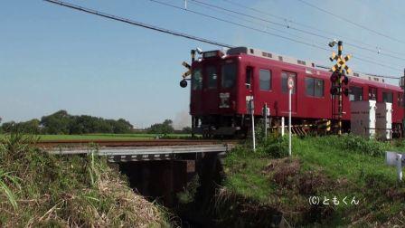 HD 720p 養老鉄道 養老線 前面展望 桑名 ~ 大垣 Yōrō Railway Yōrō Line