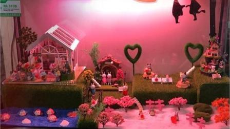 可爱树脂小情侣摆件微景观摄影造景人物卡通塑料小人蛋糕装饰实例展示