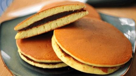 一碗面粉, 一个平底锅, 教你做铜锣烧, 香甜软绵, 家里孩子抢着吃