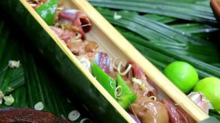 澳洲小哥  荒野求生 野外生存 生存哥   制作蔬菜炒鸡肝