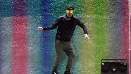 机械舞教学-popping-Roll教学-肩膀-2