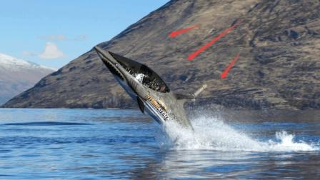 """美国这艘""""潜艇""""太逆天! 水面腾空高达4米, 获美国海军高度重视"""