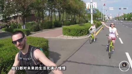 在黑龙江黑河, 一大堆俄罗斯美女来中国打工, 看看她们都做什么工作