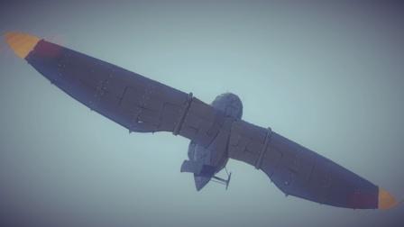 【唐狗蛋】besiege围攻 可搭载坦克的Bumblecrow运载机