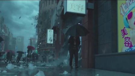 像脸盆一样大的冰雹席卷日本, 拿着雨伞是没有用的, 彻底悲剧了!