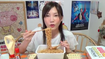 三大盒日本份量最大的泡面重8斤! 日本大胃王木下这一顿热量爆表