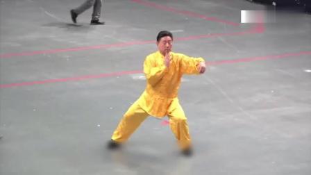 陈小旺亮相今年首屆世界太极拳大会, 太极拳表演身手风采依旧