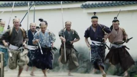 上百名日本武士冲击内府, 却被一名老人当街震慑, 打仗时气势太重要了