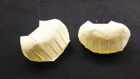 简单易学的折纸小贝壳, 看一遍就能学会, 小朋友最喜欢的手工!