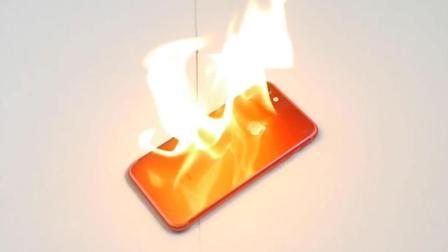 中国红iPhone7耐火性超高? 看完这个实验你就知道了!