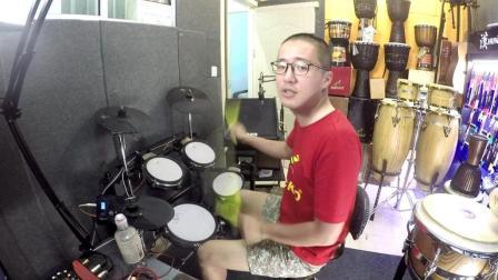 凯文先生《再见》架子鼓演奏爵士鼓演奏花式架子鼓