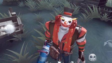 入江闪闪: 第五人格-小丑2次把3个玩家打晕, 最终