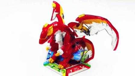 爆兽猎人儿童玩具天炎战龙