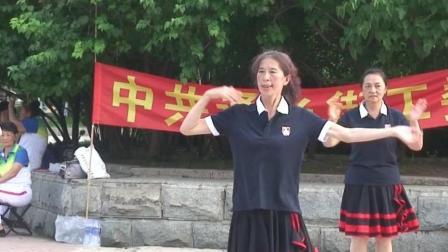 通乡街道办事处热电社区迎七一庆哈夏文艺演出