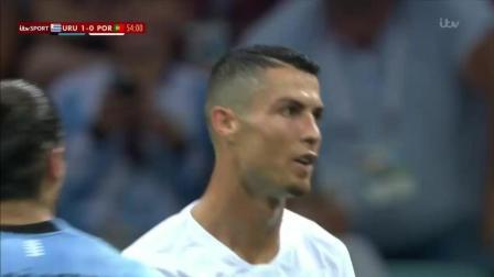 世界杯1/8决赛: 乌拉圭2: 1葡萄牙晋级8强 C罗告别俄罗斯【全场集锦】