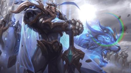 lol: 全新传说皮肤神王盖伦大招超酷炫, 竞有三个大宝剑