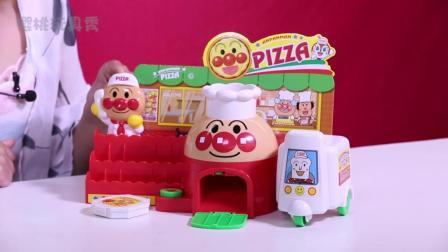 樱桃玩具秀: 樱桃姐姐和面包超人开了一家披萨店