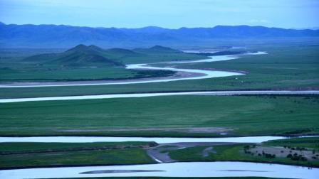 黄河第一湾----白云蓝天