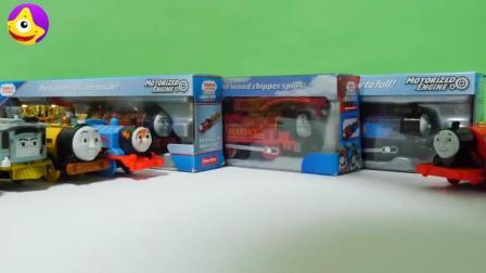 托马斯小火车儿童早教小玩具, 让宝宝认知火车的各种用途吧