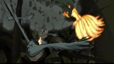 火影忍者: 大木筒家族分家召唤出一直超级通灵兽, 实力碾压仙人化的九尾