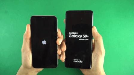 苹果X升级IOS12对比三星S9Plus、感觉IOS还有很多提升的空间