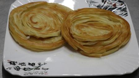 最正宗千层饼的做法, 外酥里嫩, 层次分明, 看着就有食欲!