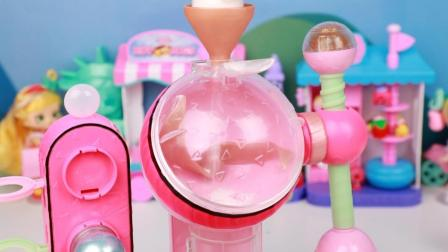 趣盒子玩具 第一季 LOL沐浴球制造机 三种神奇粉末DIY沐浴球