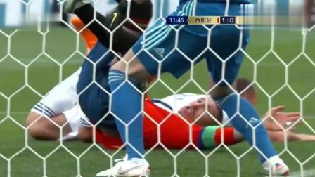 【全场集锦】进入点球大战! 西班牙VS俄罗斯加时赛1: 1踢平